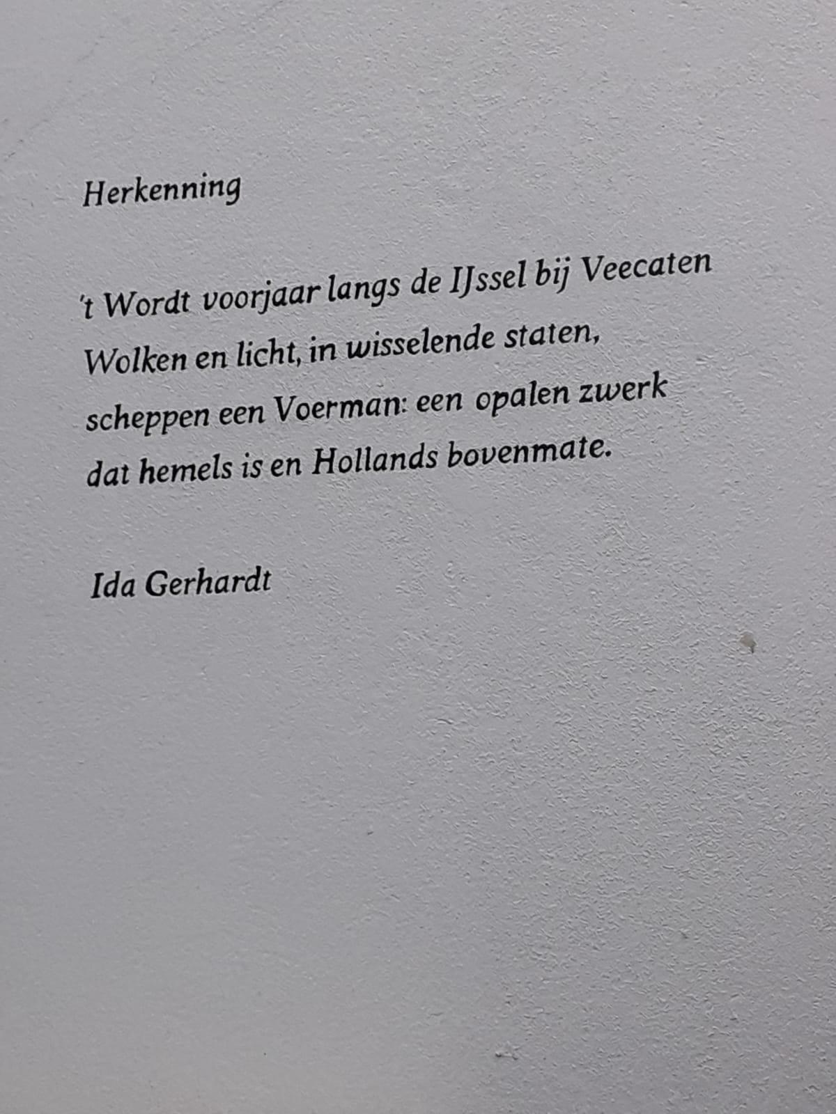 Straatpoëzie Kila Van Der Starre